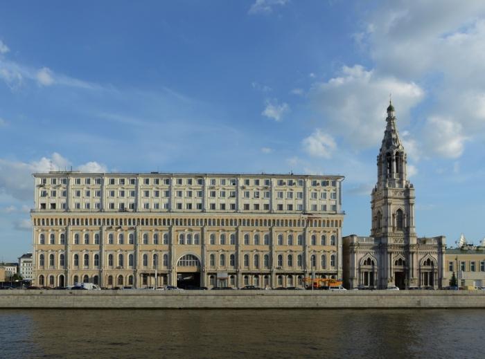 Кокоревское подворье в Москве на Софийской набережной