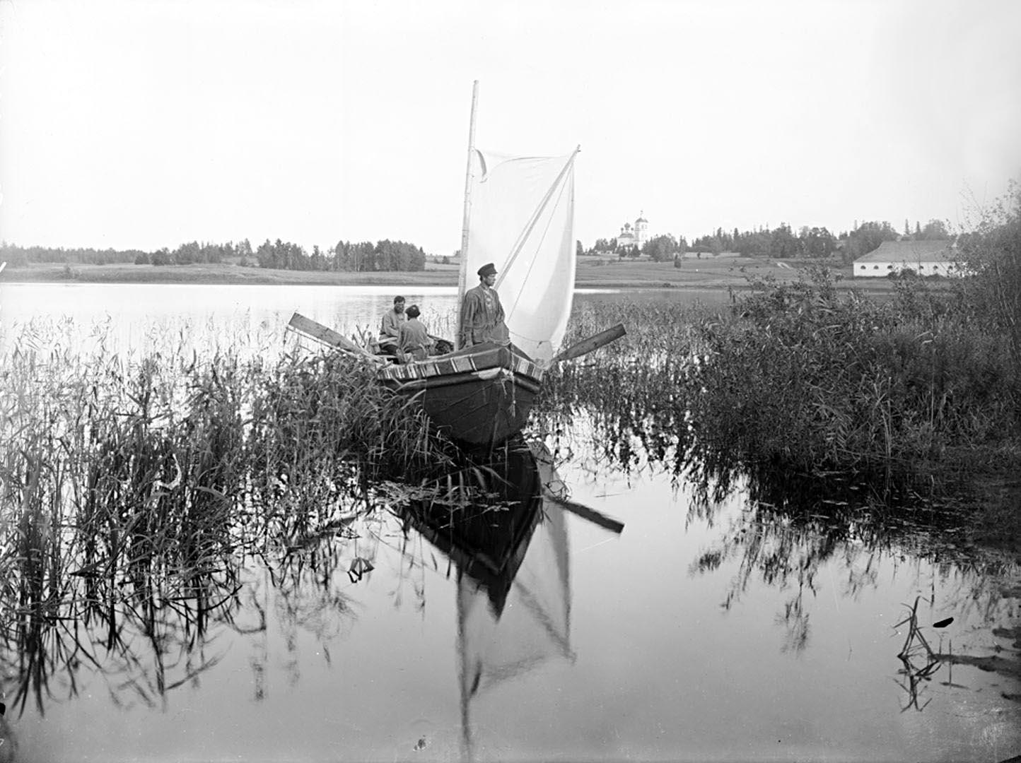 43Вид озера Селигер и Мирковского погоста. 1903 г. Тверская губерния