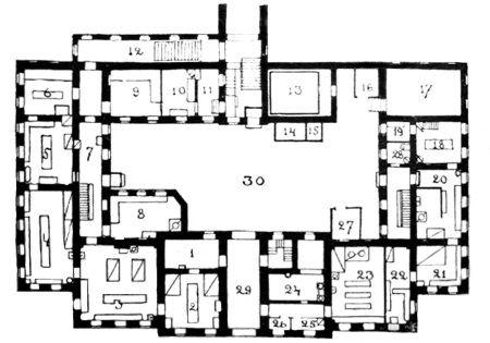План 1-го этажа Кухонного
