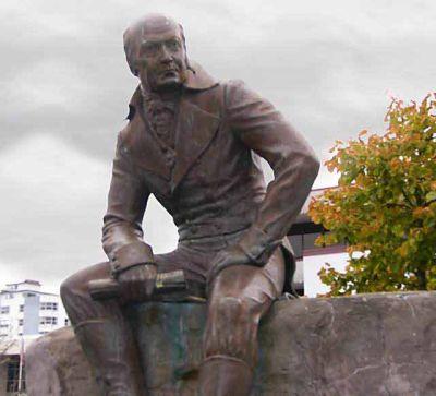 Памятник Александру Андреевичу Баранову - Ситка, Аляска