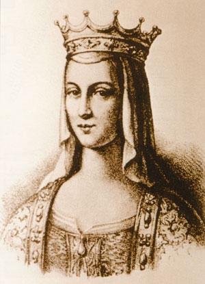 Анна выросла при княжьем дворе в киеве