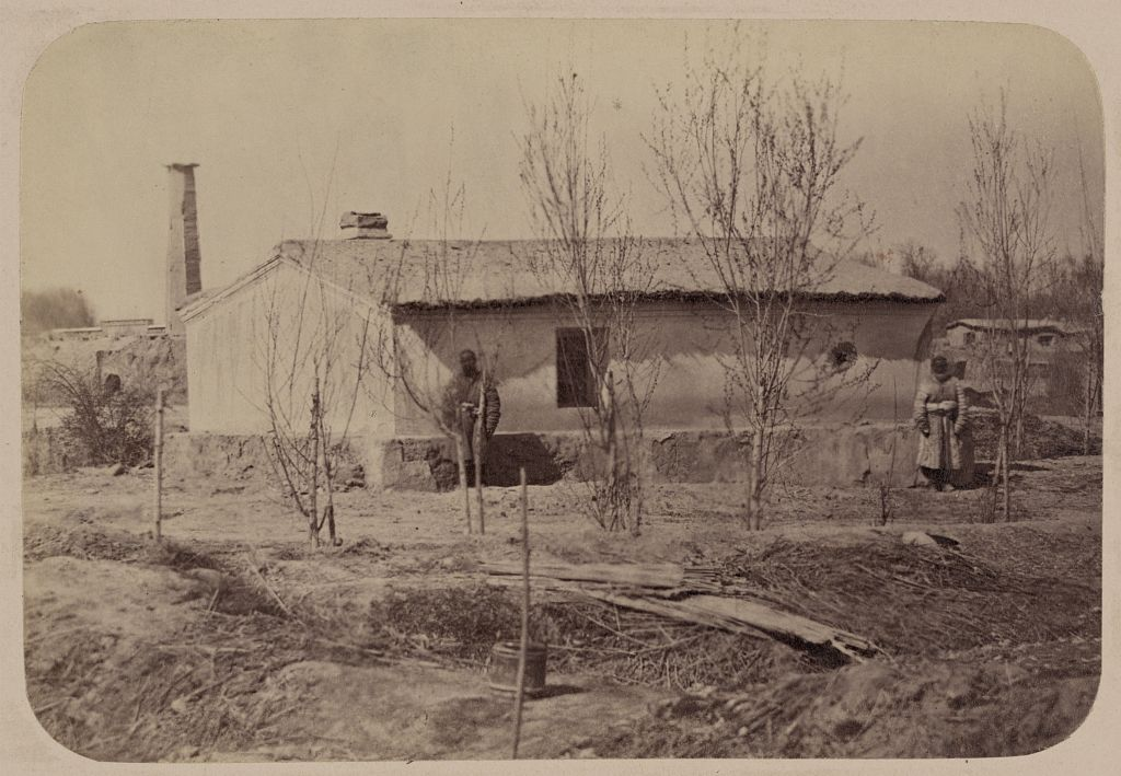 Дом генерала Черняева, в котором он жил после занятия Ташкента в 1865 году