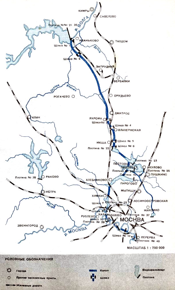 Канал Москва-Волга