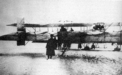 Илья Муромец тип Г-2 имел место для хвостового стрелка