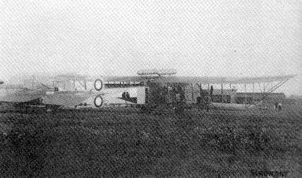 Илья Муромец, тип Г-3, с двумя двигателями Рено и двумя Р-БВЗ