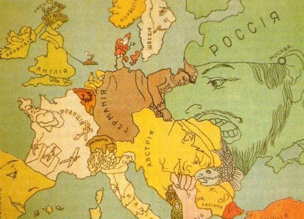 Плакаты времен первой мировой