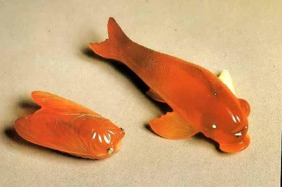 Рыбы. Сердолик. Конец XIX - начало XX в.