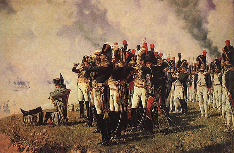 Наполеон на Бородинских высотах. В.В ...: statehistory.ru/3341/Kartiny--posvyashchyennye-Borodinskoy-bitve