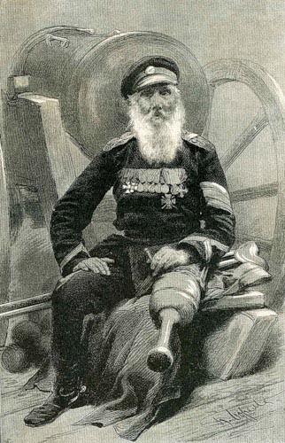 Мундир Кочеткова был уникален: на его погонах сплелись вензеля трех императоров, которым присягал старый служака. На рукаве мундира в восемь рядов шли золотые и серебряные нашивки за выслугу и отличия, а на шее и груди едва умещались 23 креста и медали