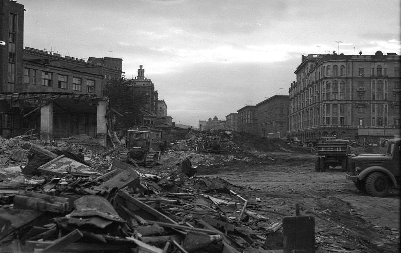 Строительство Кутузовского проспекта