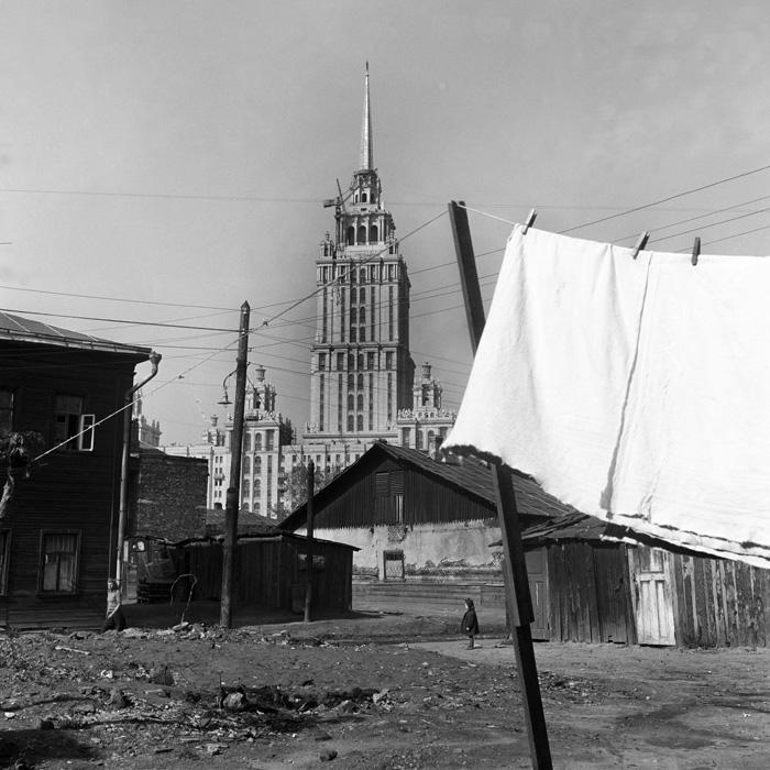 Прежнее Дорогомилово и новая гостиница Украина