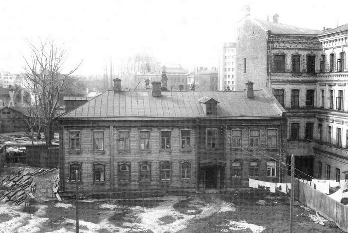 Московский двор 1950-х