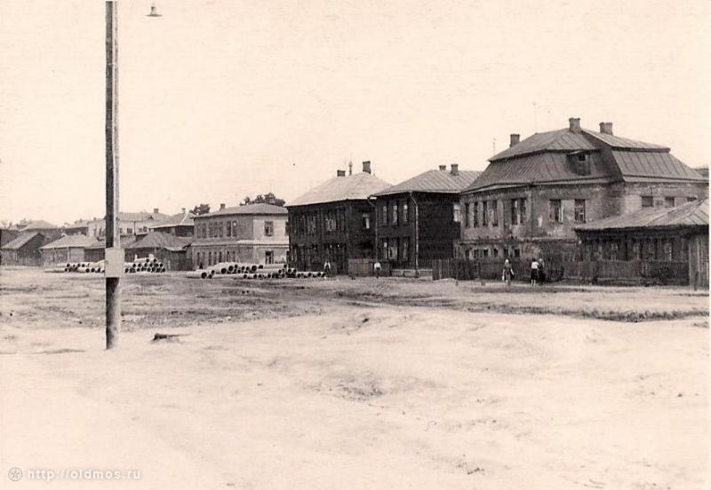 Старомарьинское шоссе.