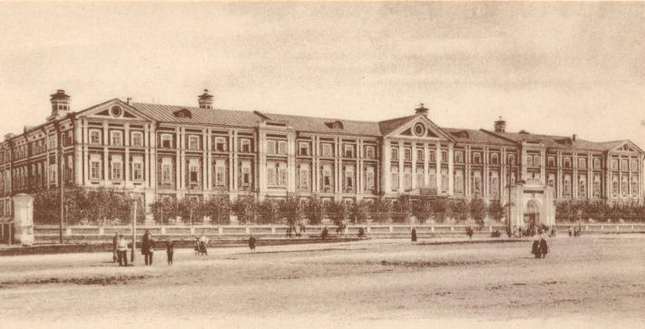 Вдовий дом, построенный Николаем Бугров для одиноких женщин с детьми