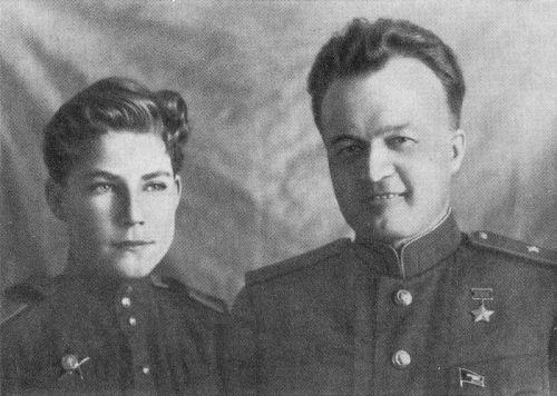 Аркадий Каманин с отцом в Дебрецене