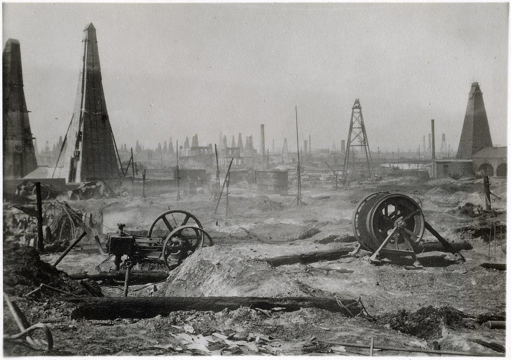 нефтяной резервуар дореволюционное фото второму значению, это